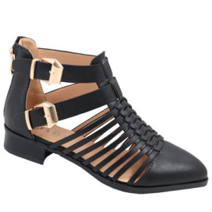 Ladies Strappy Ankle Boot