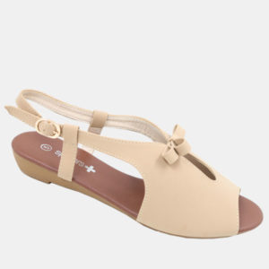Ladies Flat Sandal with Bow