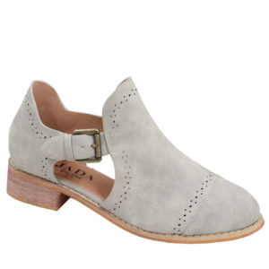 Jada ladies side buckle bootie Light Grey