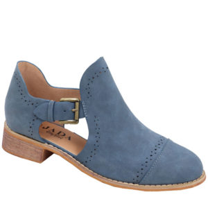 Jada ladies side buckle bootie Navy