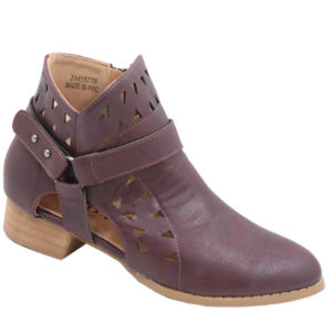 Jada ladies cut-out fashion boot