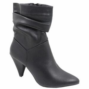 Jada Ladies Slouchy Fashion Boot Black