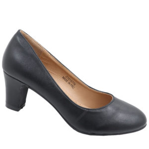 Spoiler Ladies PU Comfort Court Black