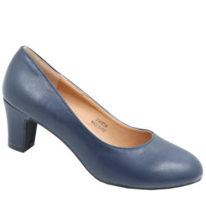Spoiler Ladies PU Comfort Court Navy