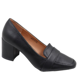 Spoiler Ladies comfort PU Court Black