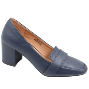 Spoiler Ladies comfort PU court Navy