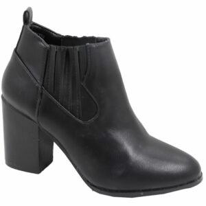 Jada Ladies Fashion boot with elastic black