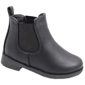 Hugs & Kisses Girls chelsea boot black