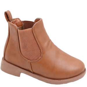 Hugs & Kisses Girls chelsea boot Tan