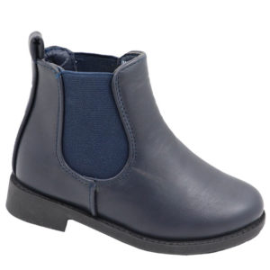 Hugs & Kisses Girls chelsea boot navy