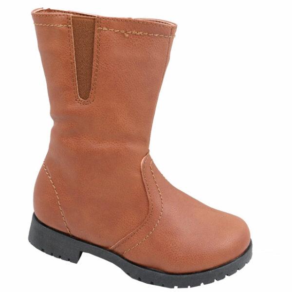 Jada Ladies Ankle Strap Suede Pointy Heel Tan - Shado
