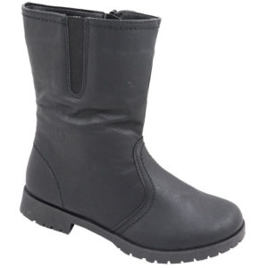 Jada Kiddies mid calf PU boot black