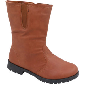 Jada Kiddies mid calf PU boot Tan