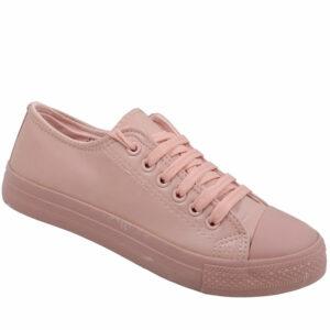 DSL Ladies Pu Sneaker Pink