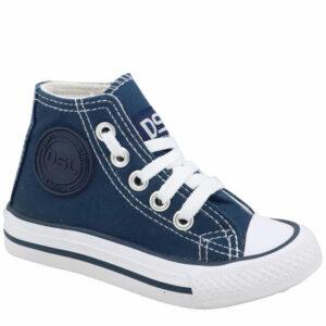 DSL Infants Fashion Sneaker Navy/White