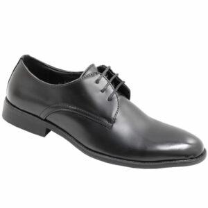 City Style Men's Lace Up Formal PU Shoe Black