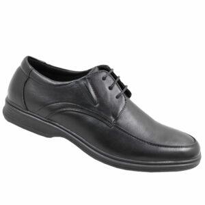 City Style Men's Lace Up Shoes Black