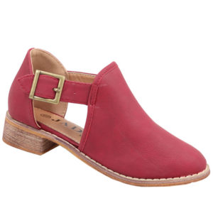 Jada Kiddies Girls Chelsea Boot Cherry Red