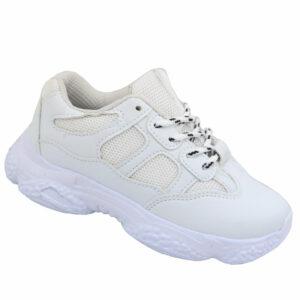 Jada Kiddies Fashion Sneaker White