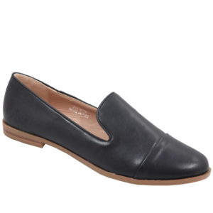 Jada Ladies Basic PU Mocassin Black