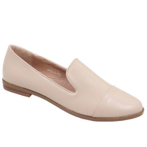 Jada Ladies Basic PU Mocassin Natural