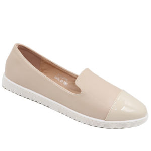 Spoiler Ladies Two Toned Pumps Beige