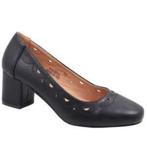 Spoiler Ladies Comfort Court With Punch Hole Detail Black