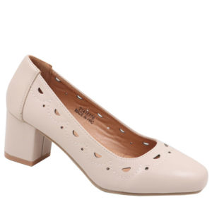 Spoiler Ladies Comfort Court With Punch Hole Detail Nude