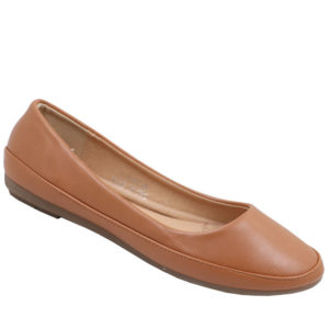 Spoiler Ladies Basic PU Comfort Pump Tan