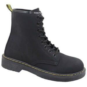 Jada Ladies Military Boot Black