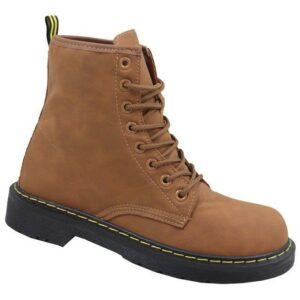 Jada Ladies Military Boot Tan