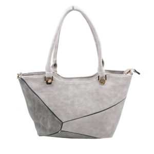 BLACKCHERRY GREY COLOUR BLOCK SHOULDER BAG