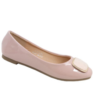 City Style Ladies Pump With Embelishment Dusty Pink
