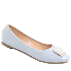 City Style Ladies Pump With Embelishment Grey