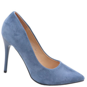 Jada Ladies Micro High Heel Saphire Blue