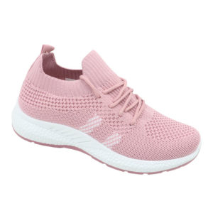 DSL Ladies Slip-In Combo Fashion Sneaker Pink