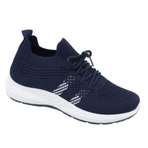 DSL Ladies Slip-In Combo Fashion Sneaker Navy
