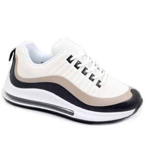 DSL Kids Combo PU Sneaker Black/White