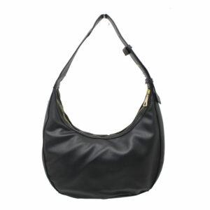 Blackcherry Black Mini Hobo Bag