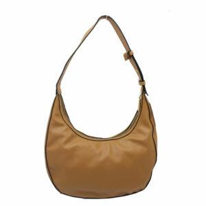 Blackcherry Tan Mini Hobo Bag