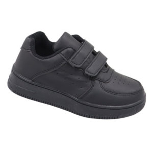 DSL Infants Fashion Sneaker With Velcro Strap Black