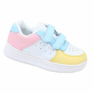 DSL Infants Fashion Sneaker With Velcro Strap Multi