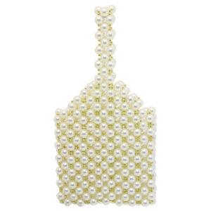 Blackcherry Pearl Clutch Bag