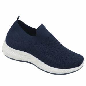 DSL Ladies Slip-On Mesh Sneaker Navy