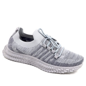 DSL Mens Comfy Slip On Fashion Sneaker Grey