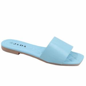 Jada Ladies Plain Lazy May Sandal Blue
