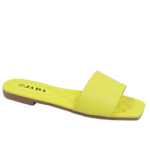 Jada Ladies Plain Lazy May Sandal Yellow