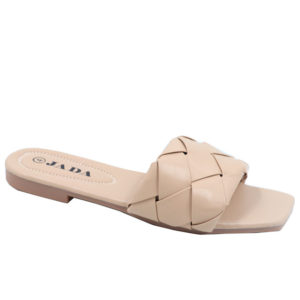 Jada Ladies Patterned Lazy May Sandal Natural